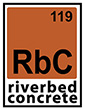 RiverBed Concrete Logo