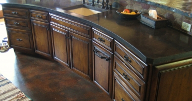 concrete countertops san antonio hill country