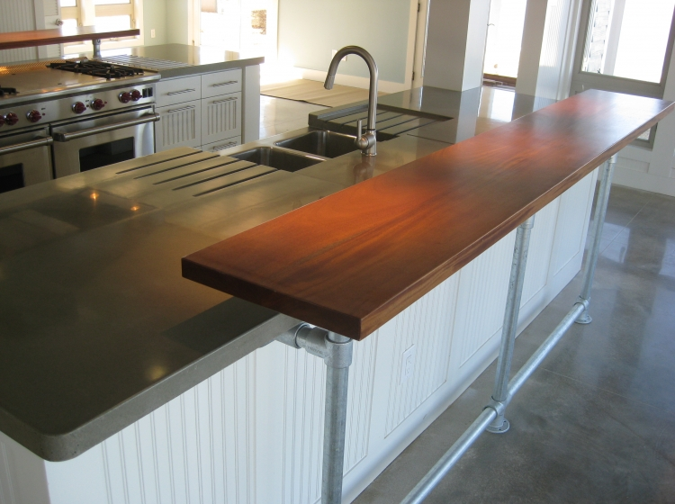 Terra Cotta Countertops · Gray Kitchen Counter ...