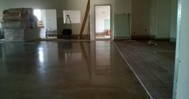 polished concrete bbq south texas