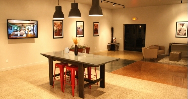 polished concrete flooring boerne