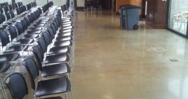 school polished concrete
