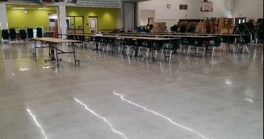 fabra elementary concrete floor