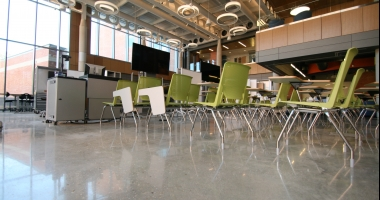 higher education polished concrete