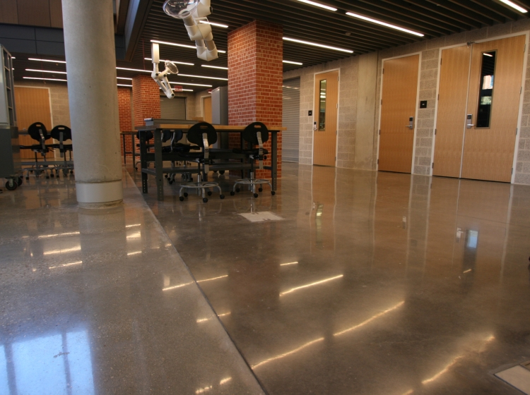Concrete Flooring Schools Riverbed Concrete