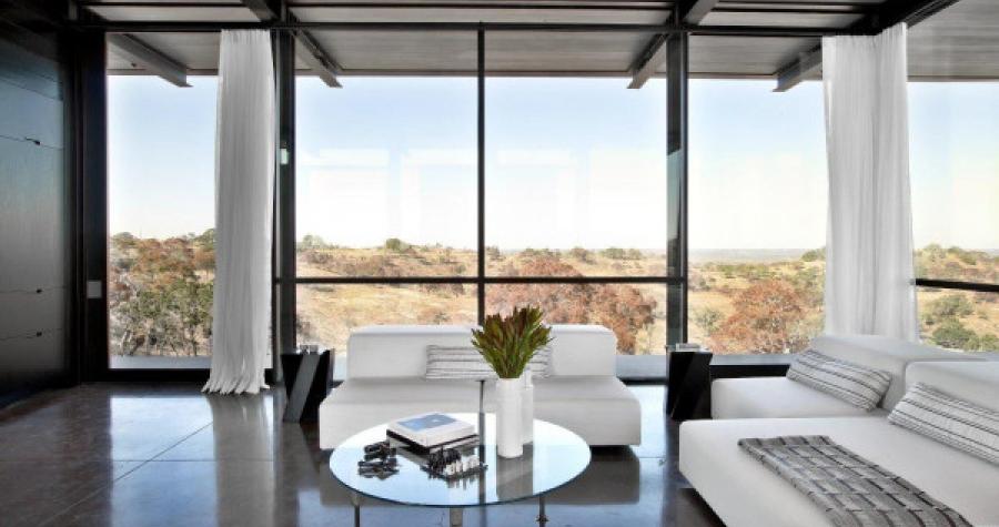 modern home concrete flooring