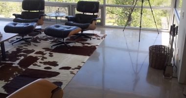 residential polished concrete