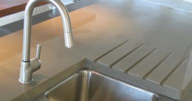 concrete countertop kitchens