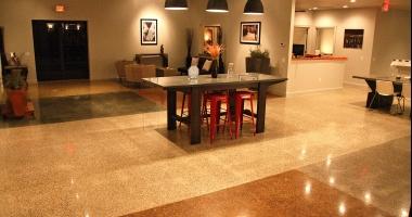 decorative concrete showroom
